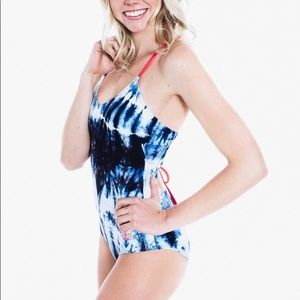 Rad Swim Swim - Rad Swim Jess Tie Dye Swimsuit